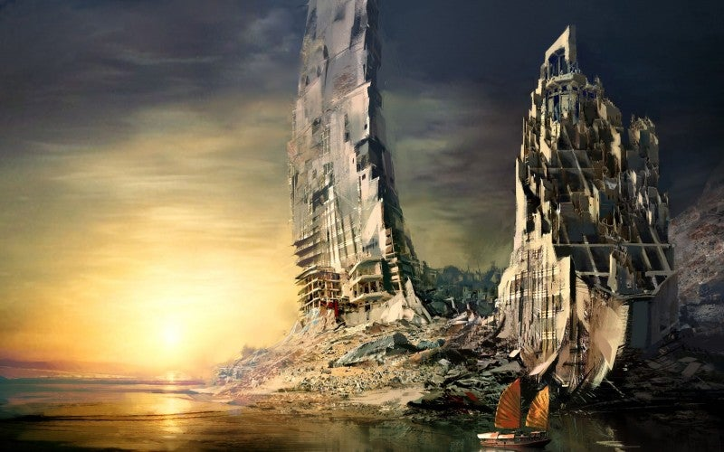See the World's End with These Wallpapers of Dystopian Ruins
