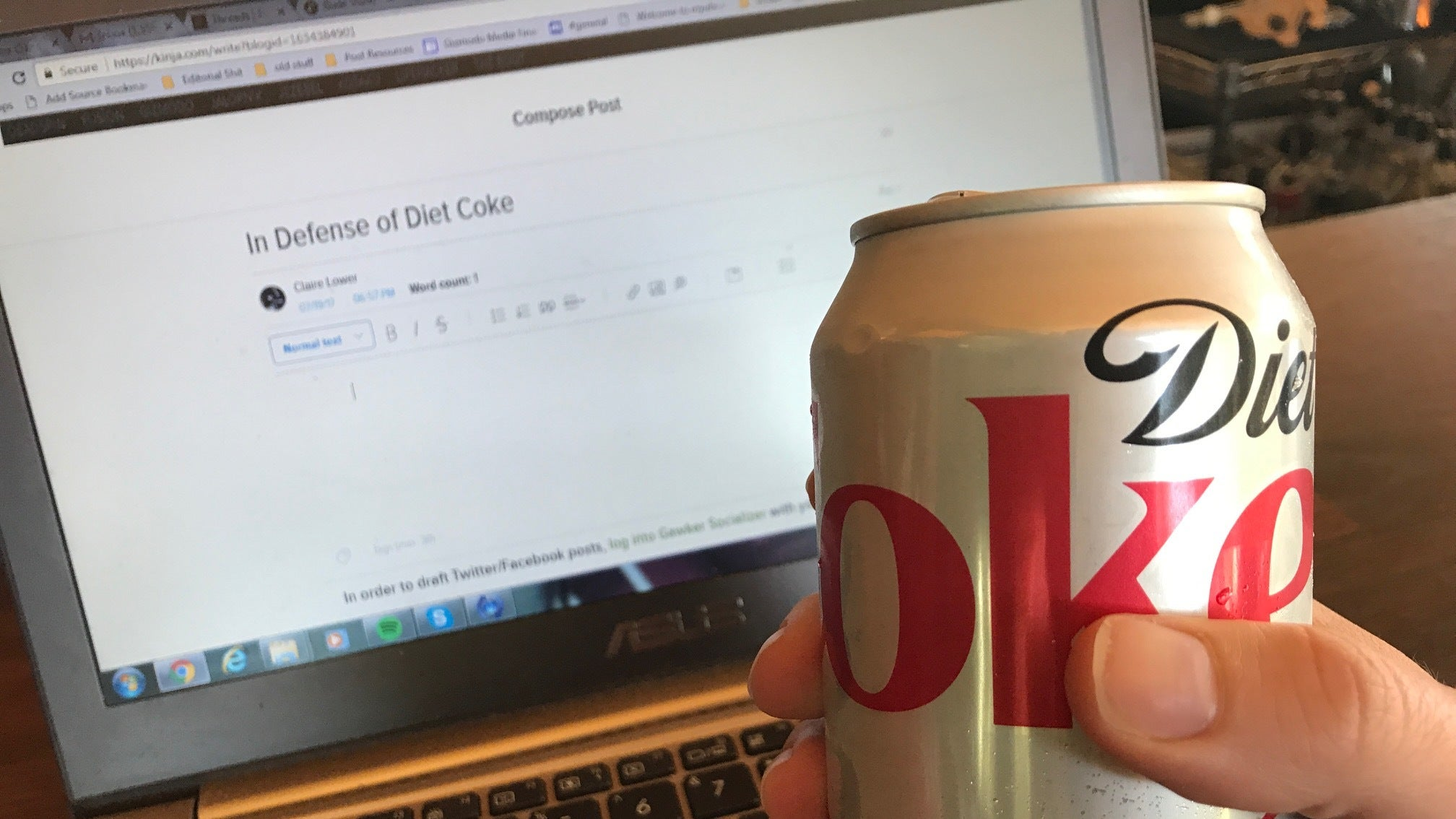 Can I Just Enjoy This Damn Diet Coke Without Being Health-Shamed?