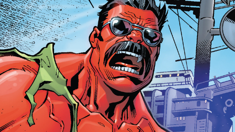 U.S.Avengers Introduces A Whole New Red Hulk
