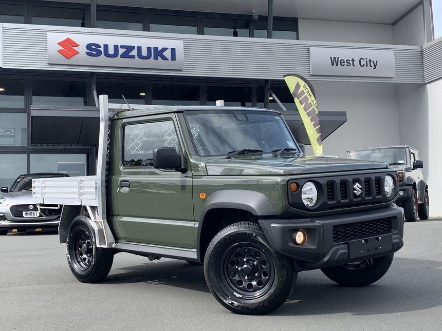 Suzuki New Zealand Converts Jimnys Into Tiny Flatbed Trucks