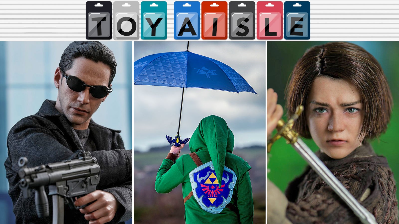 A Master Sword For Battling Rain, The Return Of The One, And More Of Our Favourite Toys Of The Week