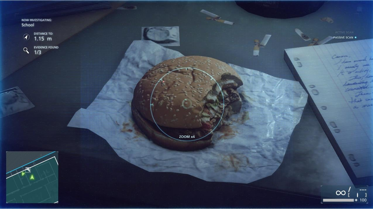 The Greatest Video Game Hamburger I've Ever Seen
