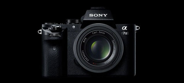 Sony's A7 Mark II Camera Will Be Available Next Month For $1700