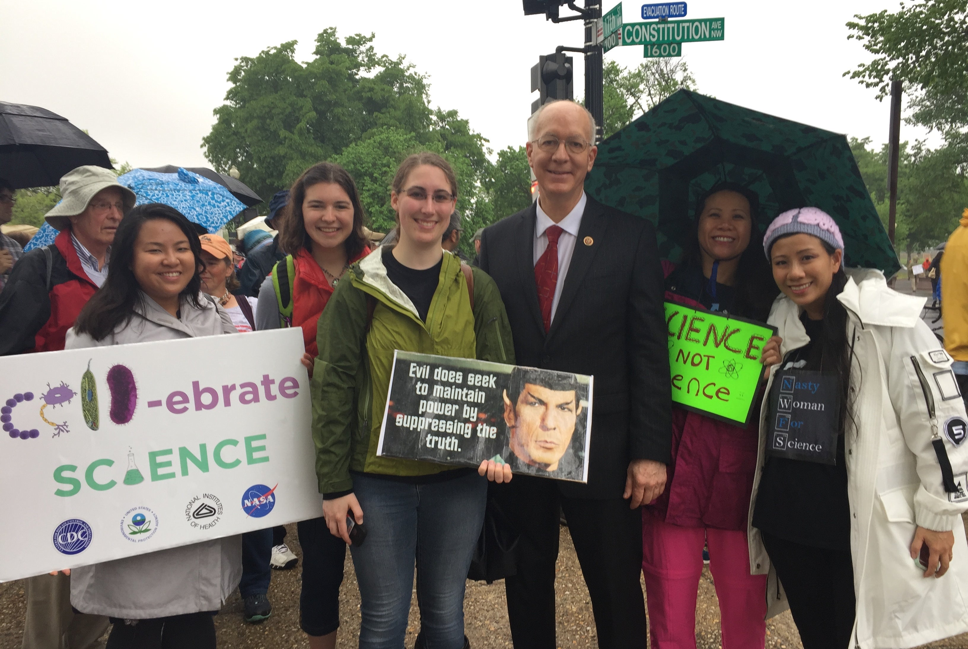 At The March For Science, US Congress's Lone Scientist Pines For Company
