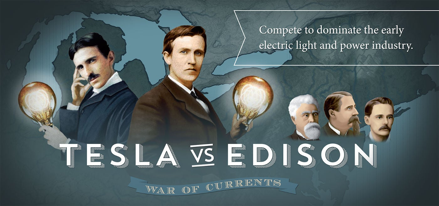 New Board Game Pits Tesla Against Edison History S
