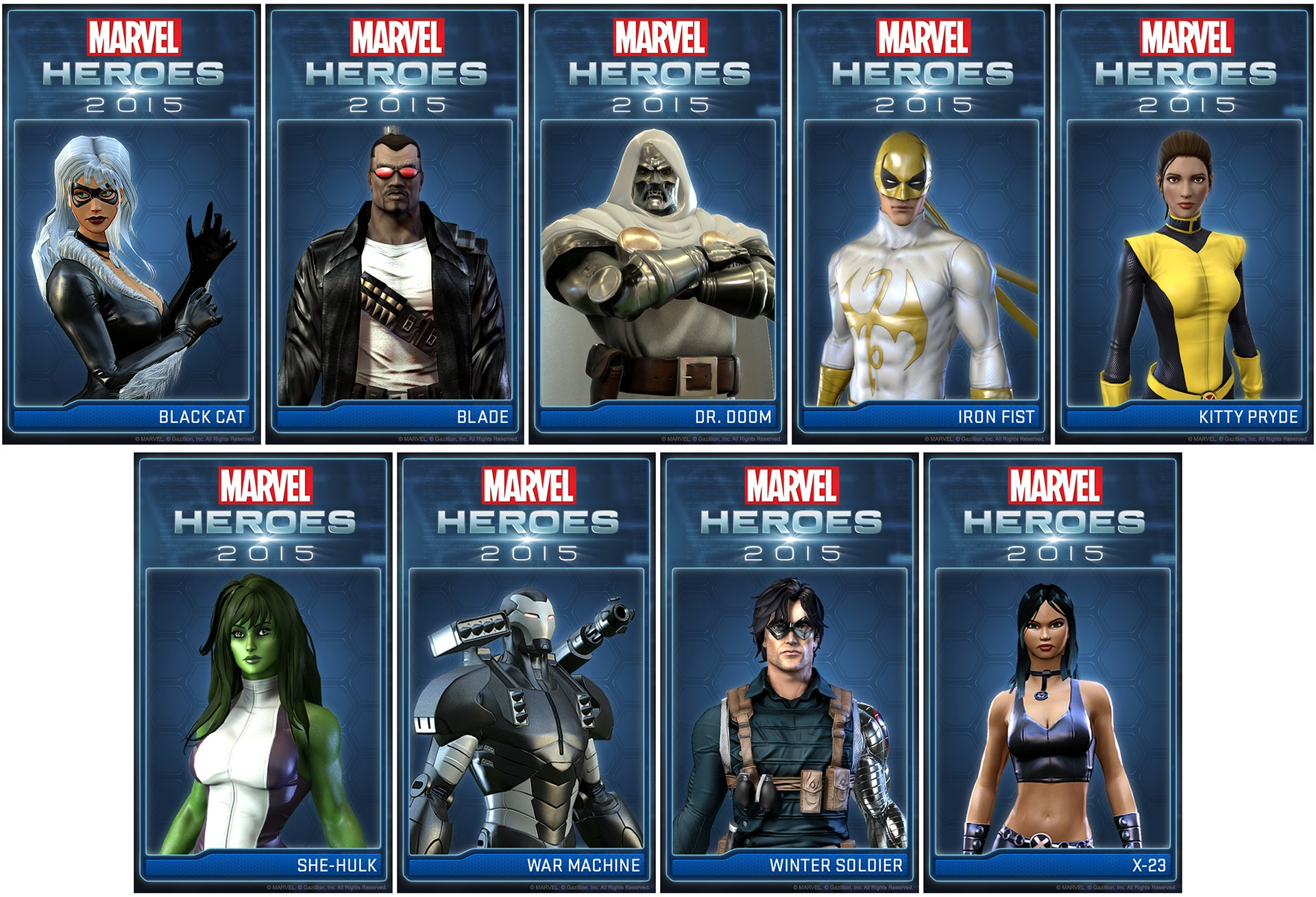 Doctor Doom Invades The Upcoming Marvel Heroes' Roster