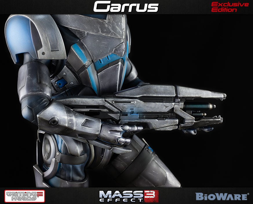 Relive Your Mass Effect Romance With 21 Inches Of Hot Garrus Statue