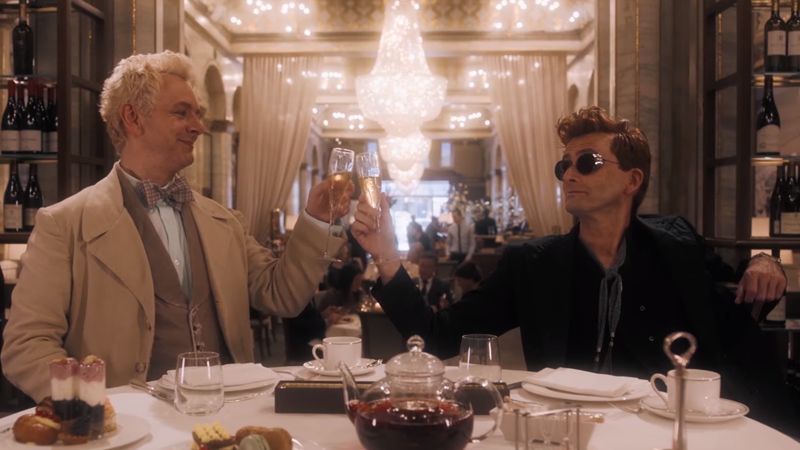 The First Good Omens Trailer Is Here To Drag You To Hell