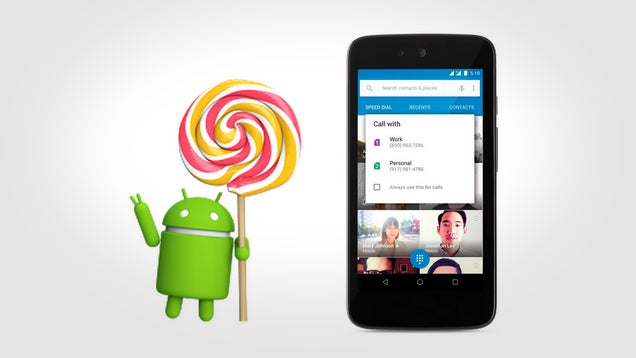Google Announces Android 5.1 with Device Protection, HD Voice