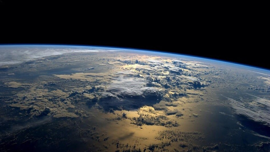 Today's view of the ISS shows once again how amazing Earth is