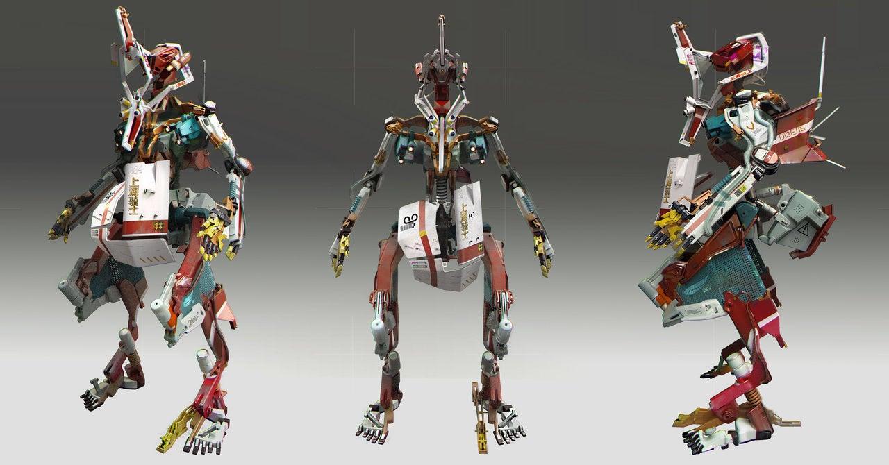 Nice Codpiece, Skinny Robot