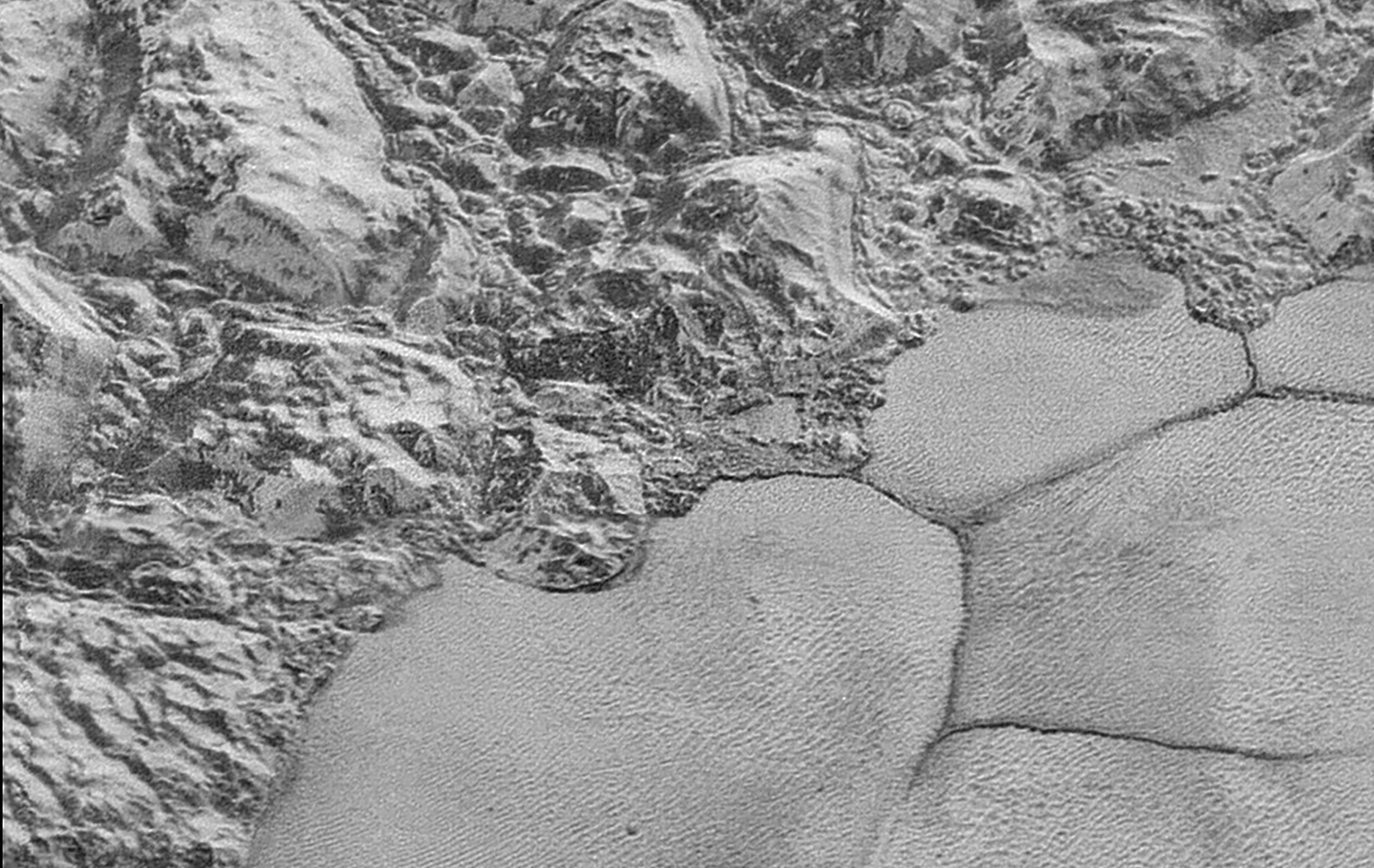 This Is the Best Look at Pluto's Surface We're Going to Get