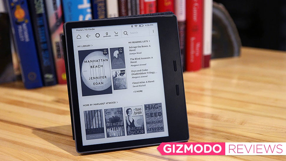 Amazon's New Kindle Oasis: The Gizmodo Review
