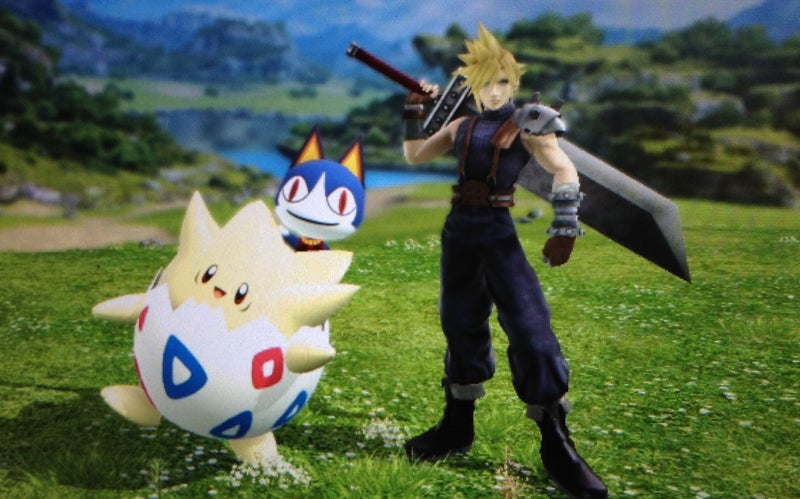 Final Fantasy VII, Retold With Smash Bros. Trophies