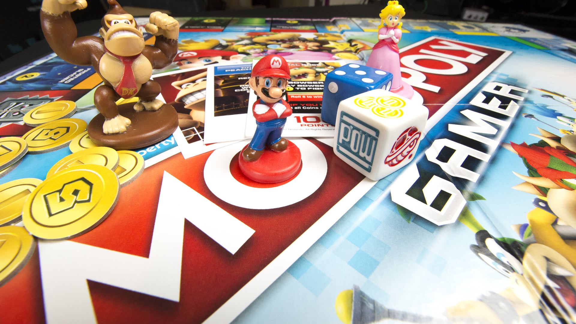 Mario-Themed Monopoly Gamer Has Power-Ups And Boss Battles