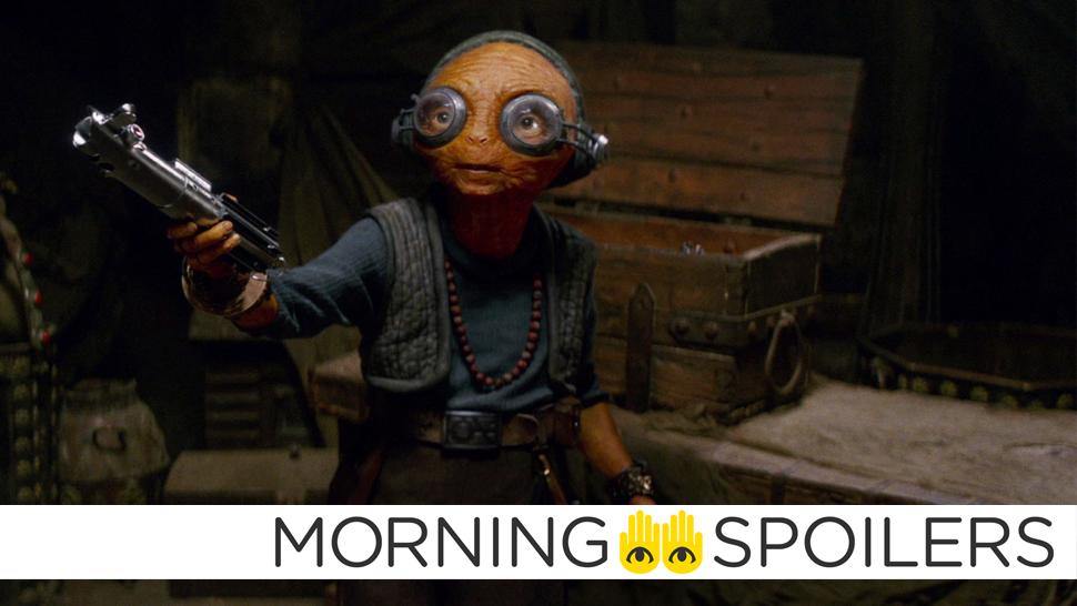 More Hints For Maz Kanata's Role In Star Wars: The Last Jedi