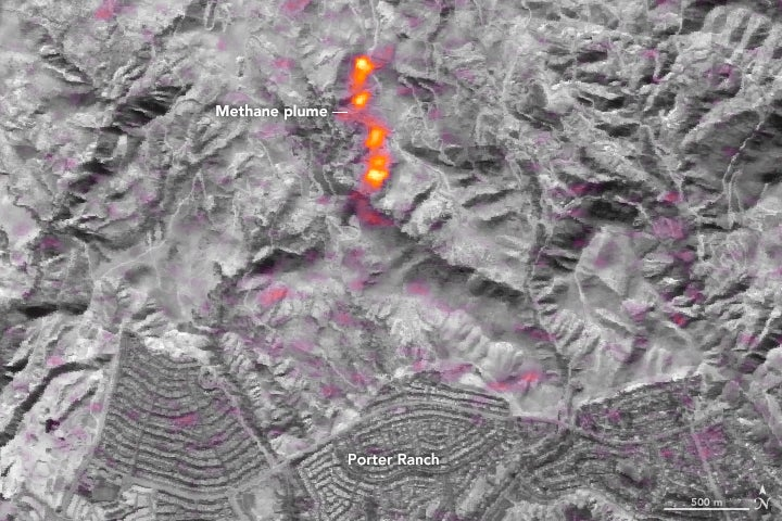 The LA Gas Leak Was So Bad You Could See It From Space