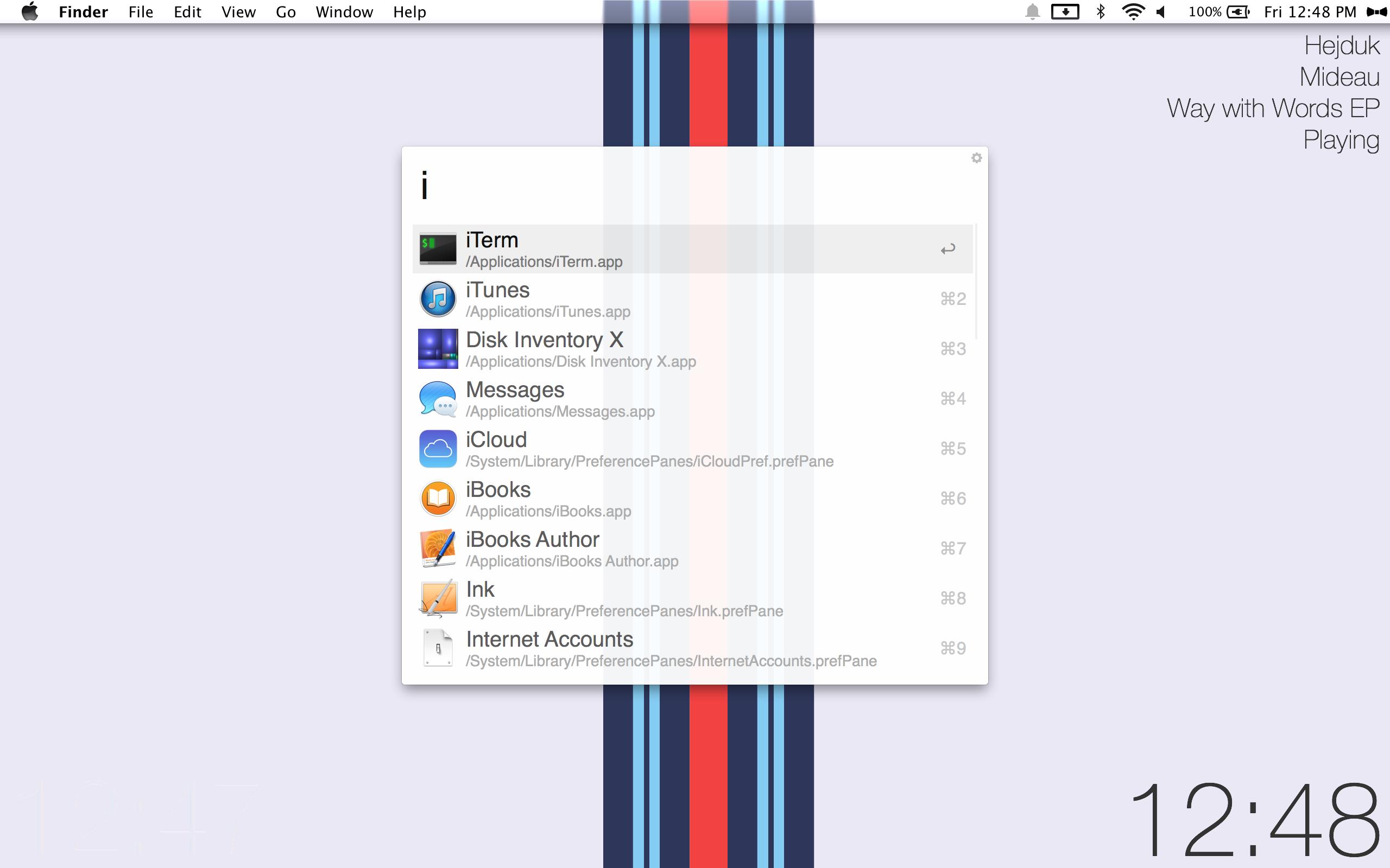 The Simple Stripe Desktop