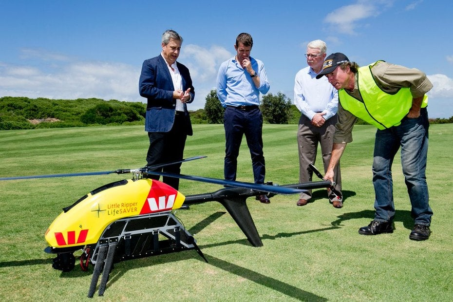 Australian Lifeguards Are Getting a $US200,000 ($279,710) Drone to Spot Sharks