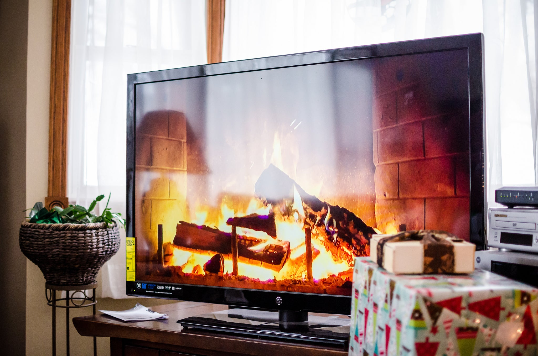 Why You Shouldn't Hang Your TV Over Your Fireplace
