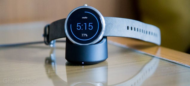 The Moto 360's Battery Life Has Gotten Way Better