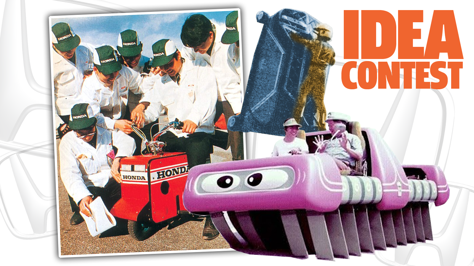 Honda Used To Hold Annual 'Idea Contests' That Gave The World The Folding Motocompo Motorbike And A Vertical-Driving Car