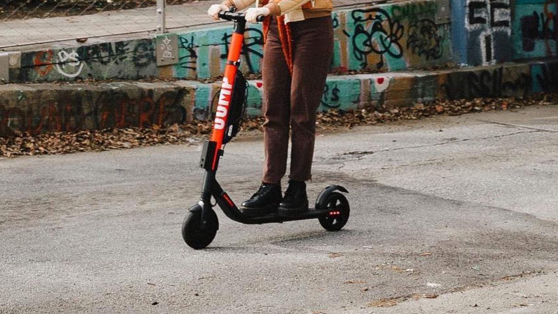 Maybe Don't Charge An E-Scooter If You Plan To Do Crimes