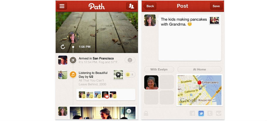 Report: Apple May Buy Social Network Path