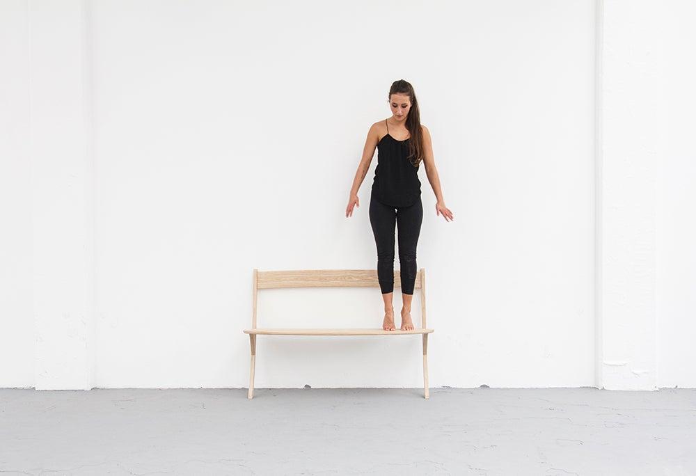 This Beautiful Bench Has a Real Sense of Balance