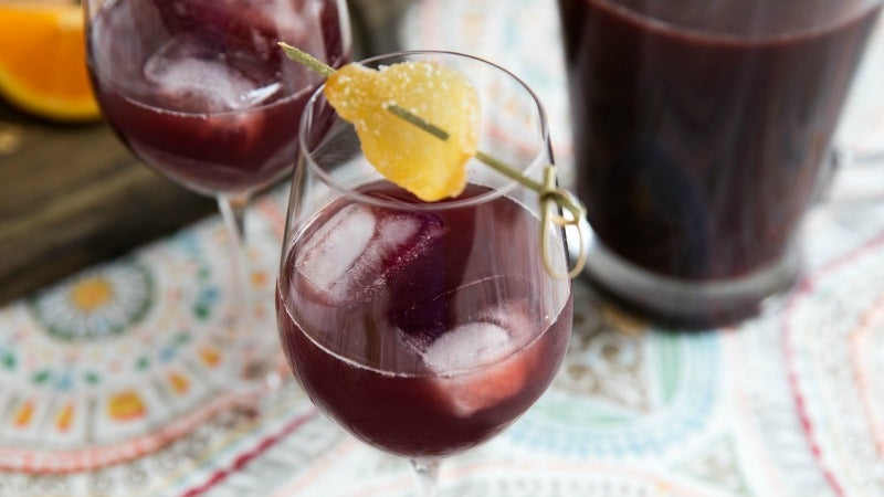 Make a Flavorful, Spiced Sangria With Cardamom and Ginger
