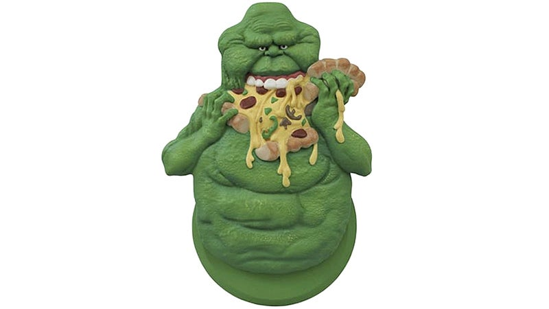 A Slimer Pizza Cutter Is Who Ya Gonna Call When Delivery Arrives