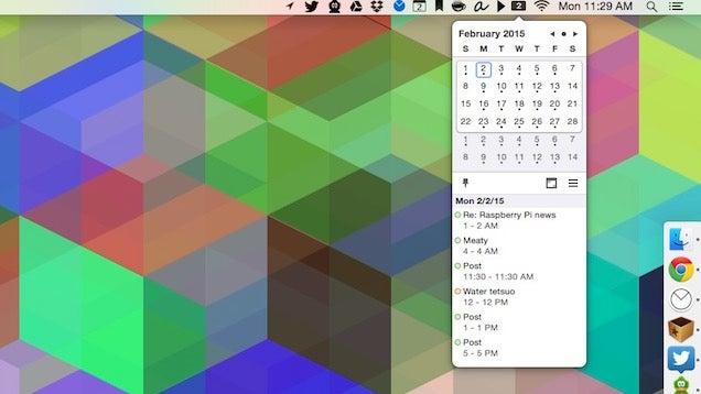 Itsycal For Mac Stuffs A Calendar Into Your Menubar