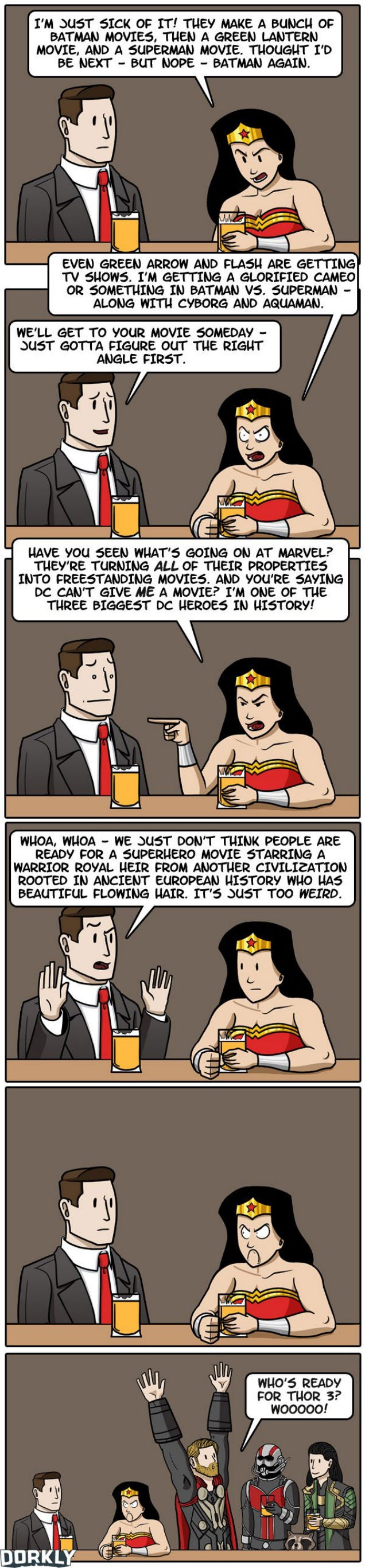 Why There Still Isn't A Wonder Woman Movie