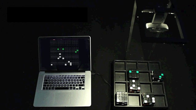 Make Music By Solving or Scrambling This Sequencer's Rubik Cubes