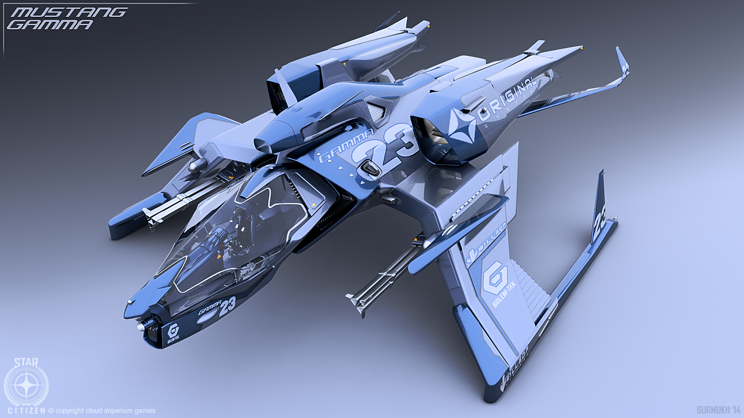 My favourite Star Citizen fighter so far