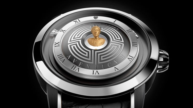 A Hologram of Emperor Marcus Aurelius Floats Above This Watch