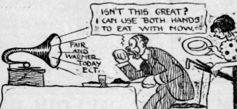 Comic From 1913 Predicted Innovations For Newspapers Of The Future