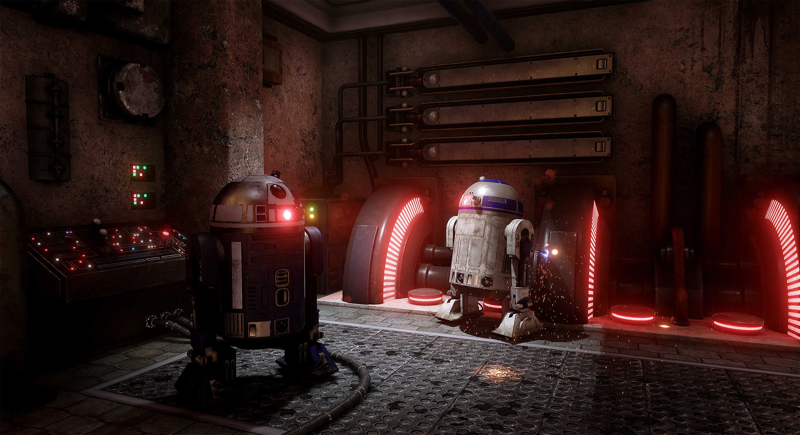 The Unreal Engine 4 Recreation of Star Wars Looks Real Good