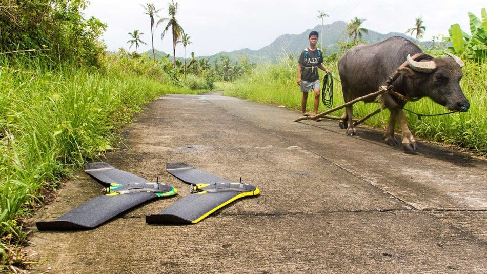How Drones Are Being Used To Track Malaria