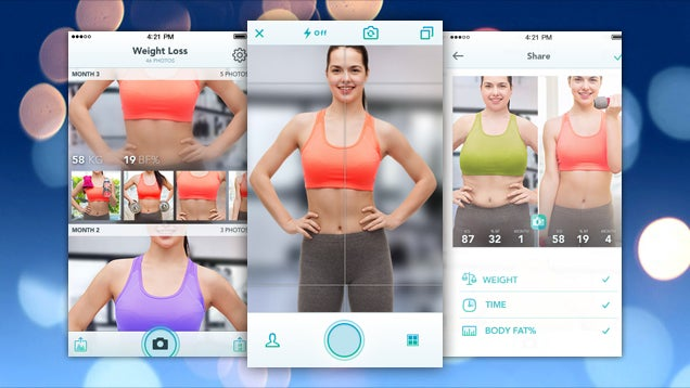 Pushh Logs and Protects Your Fitness Photos and Tracks Progress