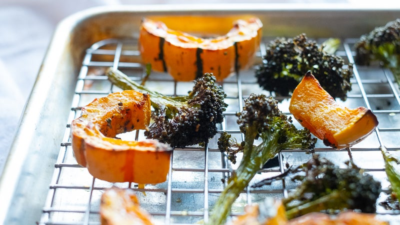 Roast Vegetables On A Rack For Maximum Crispiness