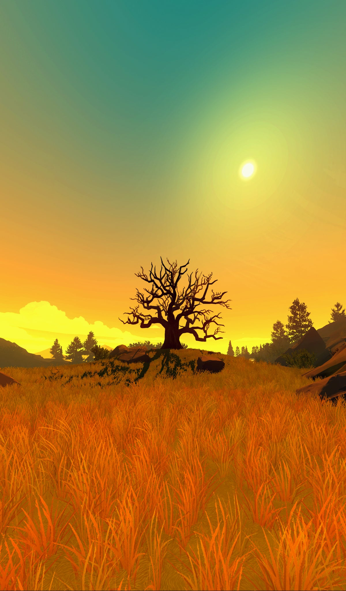 Firewatch Has Your Wallpaper Needs Covered For 2016