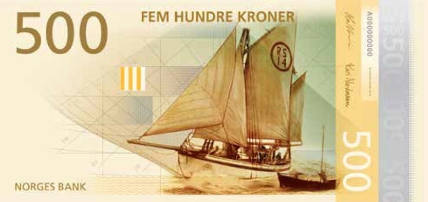 Norway's New Currency Design Is Perfectly Pixelated High-Concept Art