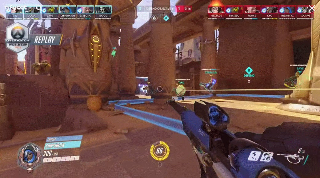 Pro Overwatch Player Demolishes Opponent In Three Simple Steps