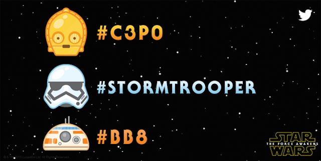 #C3PO Is Trending: Now Star Wars Emoji Are Just a Hashtag Away