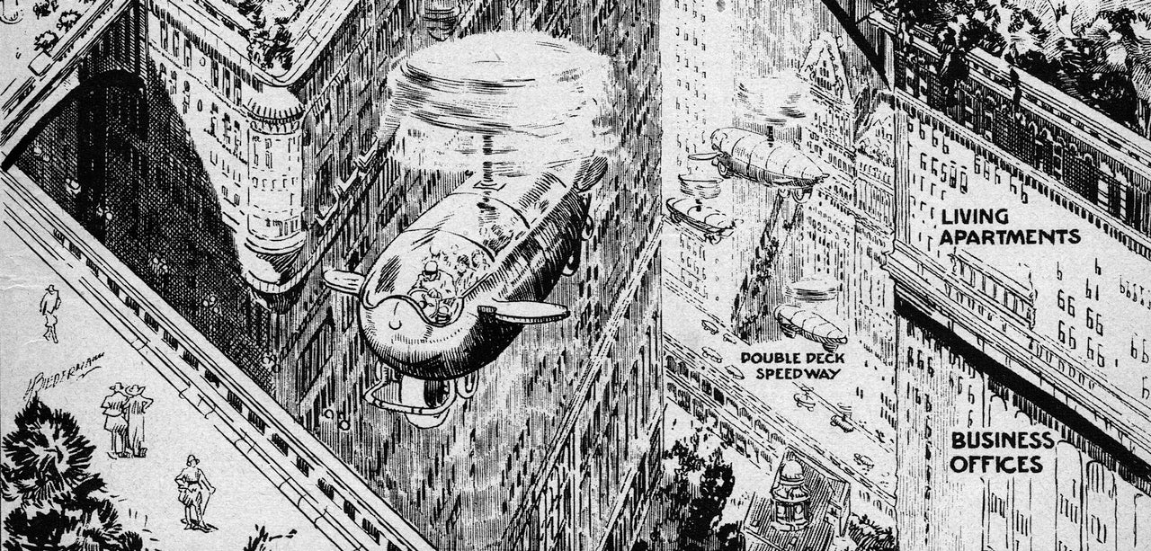 I Want This 1923 Prediction For The American City Of The Future To Be Real