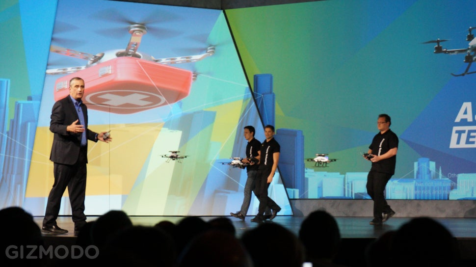 Intel Is Just Daring Autonomous Drones To Rise Up And Kill Us All