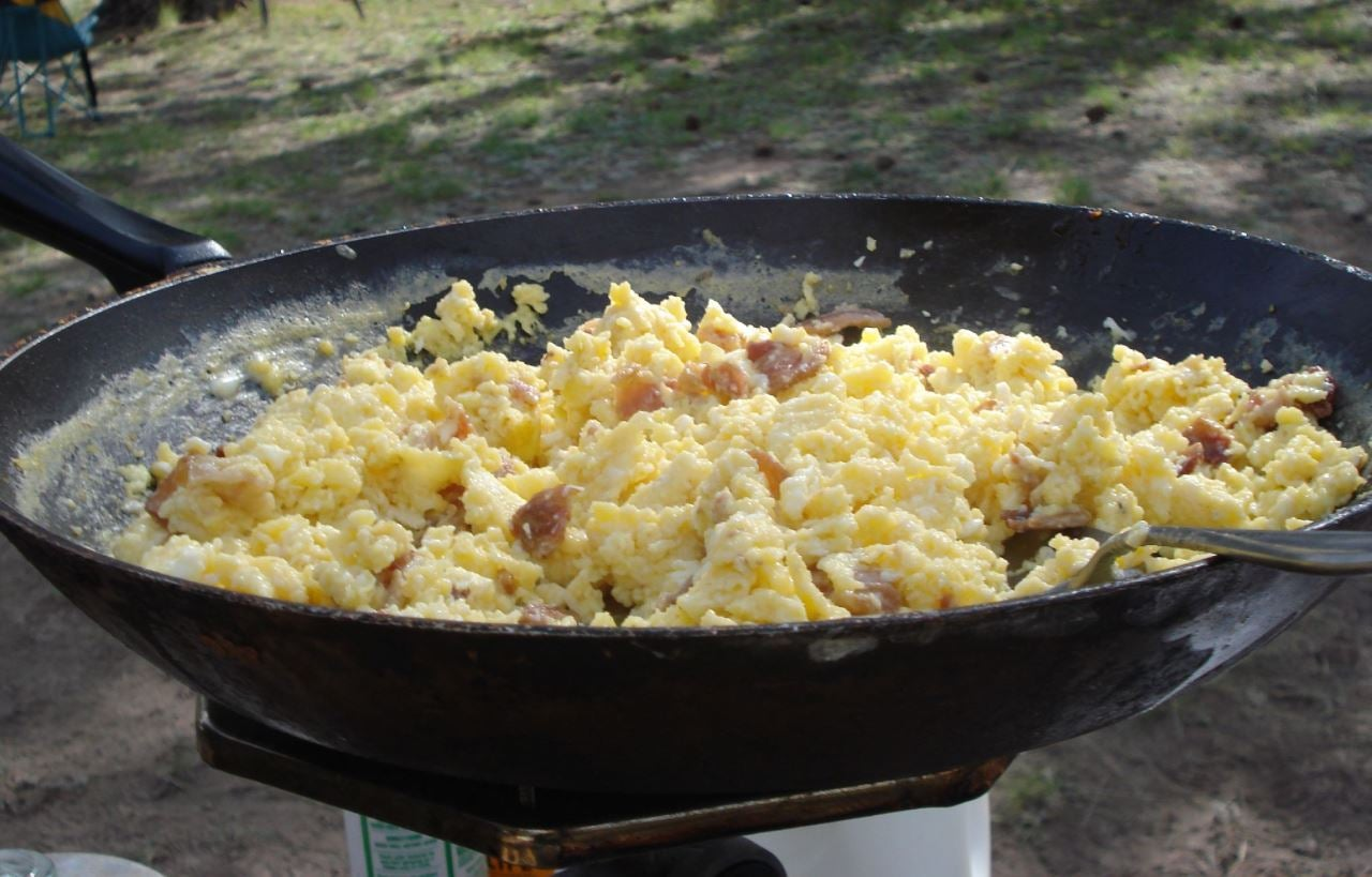 How To Cook Breakfast Over A Campfire Like A Pro