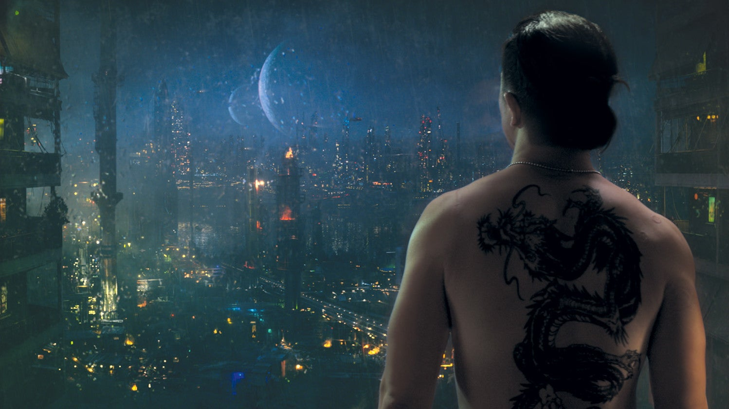 Altered Carbon Looks Stacked In An Exclusive Preview Of Netflix's Coffee Table Book