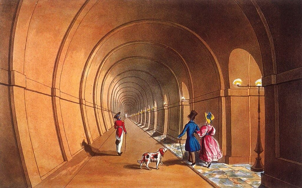 London Just Reopened the Entrance to This Underwater Tunnel for the First Time in 147 Years